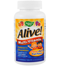 Nature's Way Alive! Children's Chewable Multi-Vitamin オレンジ、ベリー風味、チュアブル120錠